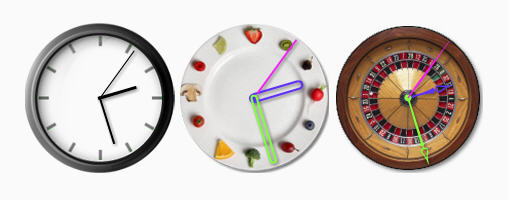 Красивые флэш часы(flash clock)